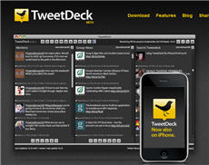 Tweetdeck, the application to manage twitter